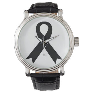 Melanom-Bewusstseins-Armbanduhr Uhr