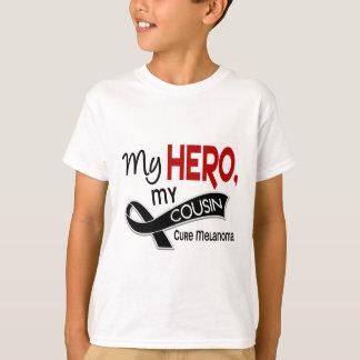 Melanom-Haut-Krebs MEIN HELD MEIN COUSIN 42 T-Shirt