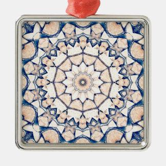 Meldet einen Kreis an Silbernes Ornament