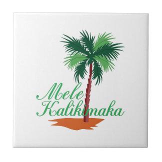 Mele Kalikimaka Keramikfliese