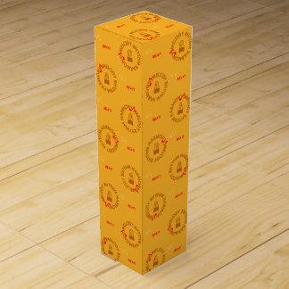 MELODY RHYTHM HARMONY (黄色) Wein-Geschenkverpackung