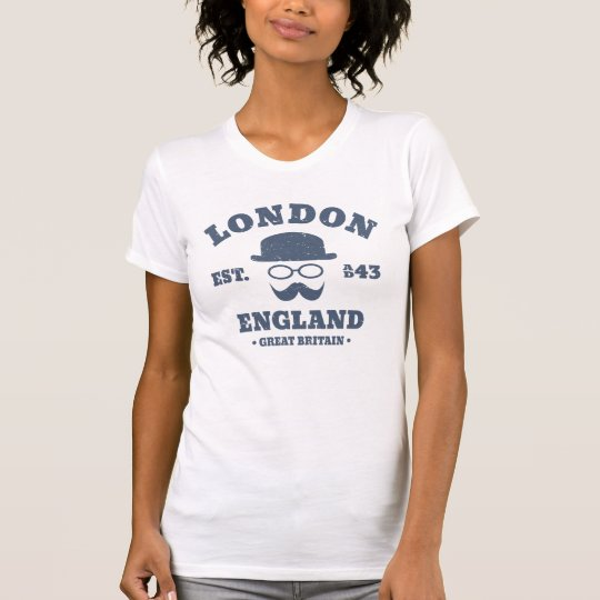 Melone Hipster-Londons England T-Shirt