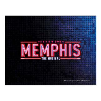 MEMPHIS - das musikalische Logo Postkarte