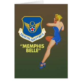 """Memphis-Schönheits-"" 8. Luftwaffe Karte"