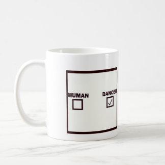 Mensch/Tänzer Kaffeetasse