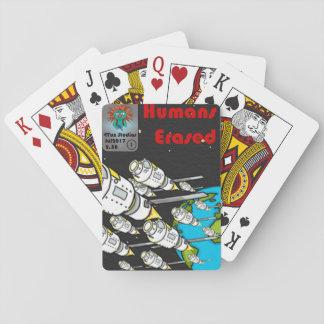 Menschen löschten Kartenstapeles Vol. 1 Spielkarten