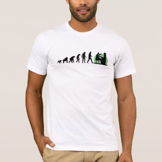 Menschliche Evolution: Pianist T-Shirt