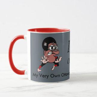 Menschliche Grau-Schalen-Tasse Bohnen-Ottawas Tasse