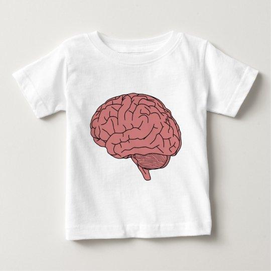 Menschliches Gehirn Baby T-shirt
