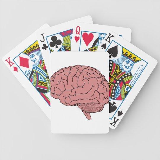 Menschliches Gehirn Bicycle Spielkarten