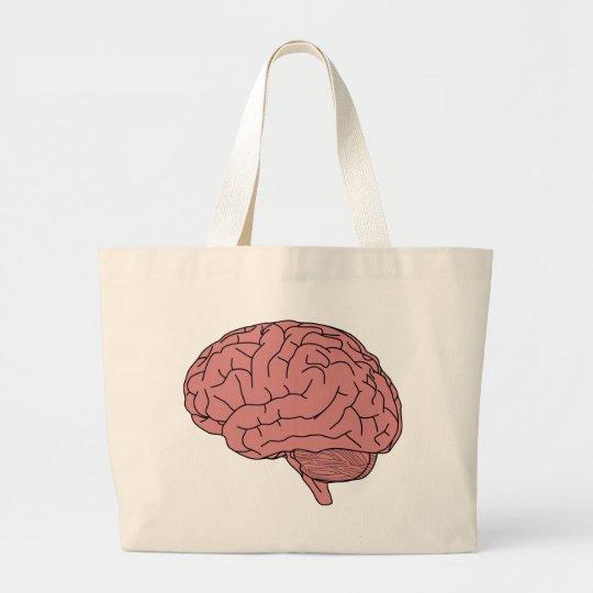Menschliches Gehirn Jumbo Stoffbeutel