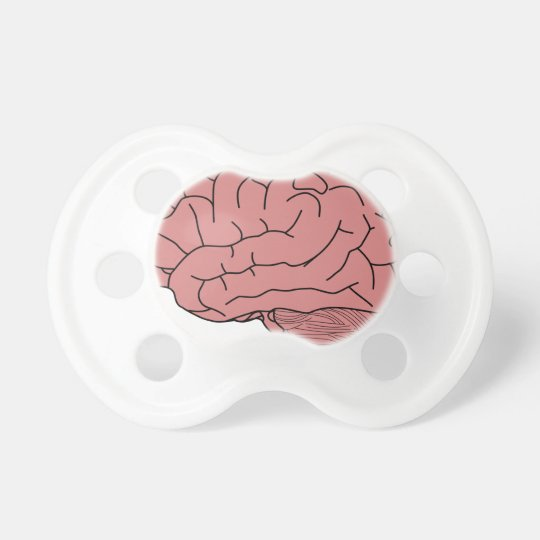 Menschliches Gehirn Schnuller