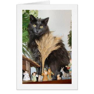 Meow--yweihnachten Karte