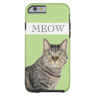 Meowtabby-Katze iPhone 6 Fall, stark Tough iPhone 6 Hülle