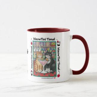 MeowTini Katzen-Tasse W/Bud u. Tony Tasse