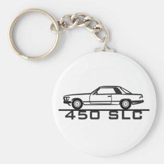 Mercedes 450 SLC 107 Porte-clé Rond