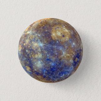 Mercury-Planeten-Button Runder Button 2,5 Cm