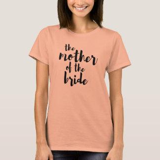 Mère du T-shirt nuptiale de mariage de partie de