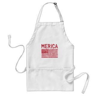 Merica Flagge Schürze