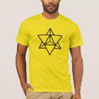 Merkaba - Metatrons Würfel - Heilige Geometrie T-Shirt