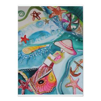 Merken Sie Card~ ursprüngliche Kunst durch Allison 12,7 X 17,8 Cm Einladungskarte