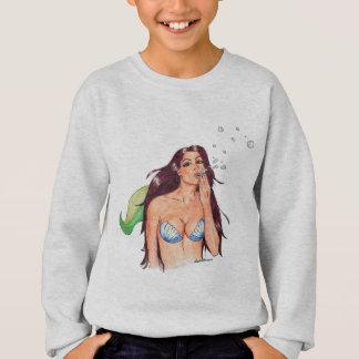Mermaiden Sirena scherzt Sweatshirt