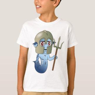 Merman-Neptun Krieger T-Shirt