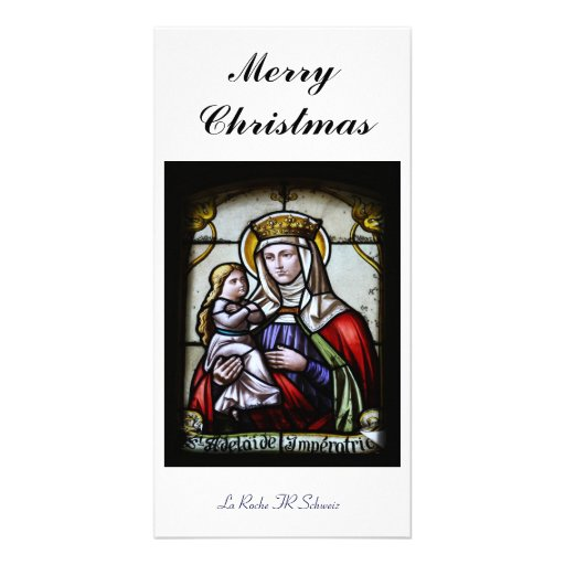 Merry Christmas carte de photo Cartes Avec Photo
