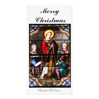 Merry Christmas carte de photo Photocarte Customisée