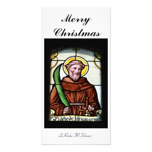 Merry Christmas carte de photo Modèle Pour Photocarte