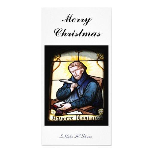 Merry Christmas carte de photo Cartes De Vœux Avec Photo