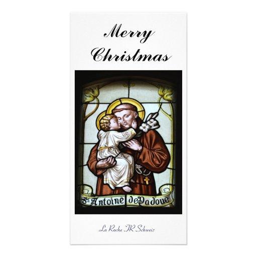 Merry Christmas carte de photo Photocartes Personnalisées