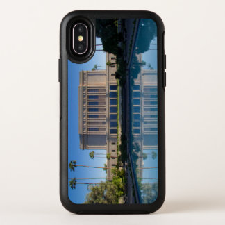 MESA-Tempel, der in einem blauen Pool sich OtterBox Symmetry iPhone X Hülle