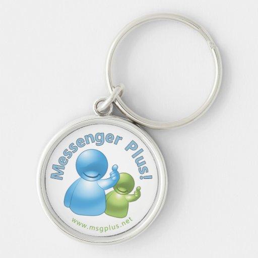Messager plus ! Amis Keychain Porte-clefs