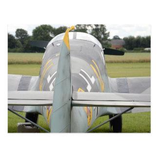 Messerschmitt Bf108 Postkarte