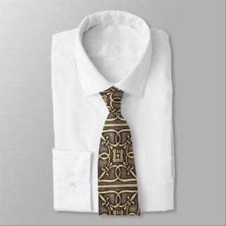 Messingvatertag hübsches Goldder keltische Knoten- Individuelle Krawatte
