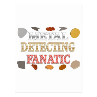 Metall, das Fanatiker ermittelt Postkarte