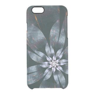 MetallBlume Durchsichtige iPhone 6/6S Hülle