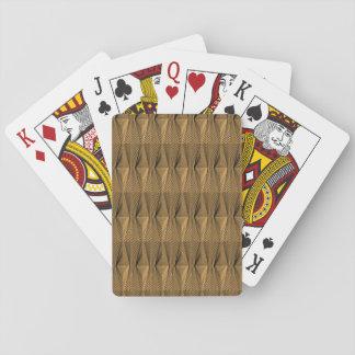 Metalldiamant-Standardspielkarten Spielkarten