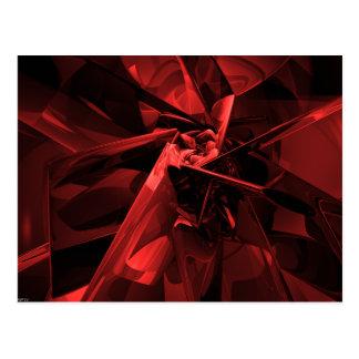 Metalle des Rotes Postkarte