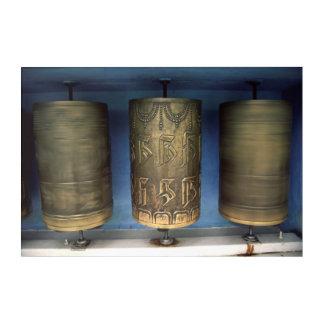 Metallgebets-Räder Acryl Wandkunst