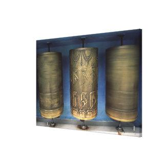 Metallgebets-Räder Leinwanddruck