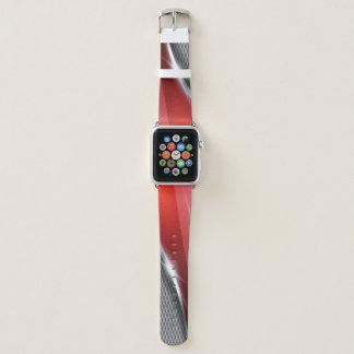 Metallische Hintergrund-Kunst 1 Apple Watch Armband