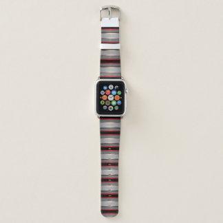Metallische Hintergrund-Kunst 3 Apple Watch Armband