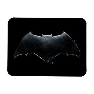 Metallisches Batman Symbol der Magnet