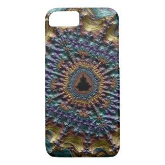 Metallisches Faden-Fraktal iPhone 8/7 Hülle