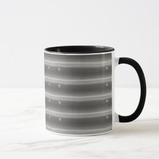 metallkaffee-Tasse des Effekt-3D Stahl Tasse