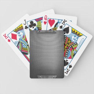 Metallplattenblick-Spielkarten #2 Bicycle Spielkarten