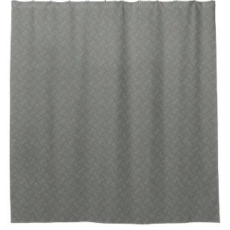 Metallplattendesigner-Duschvorhang durch Julie Duschvorhang