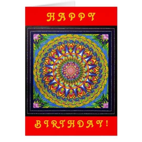 Metamorphose (Geburtstags-Karte) Grußkarte